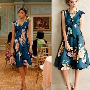 Moulinette Soeurs Anthropologie Floral Dress 4